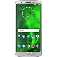 "Motorola XT1925-1 Moto G6 - Smartphone de 5.7"", Plateado, Desbloqueado"