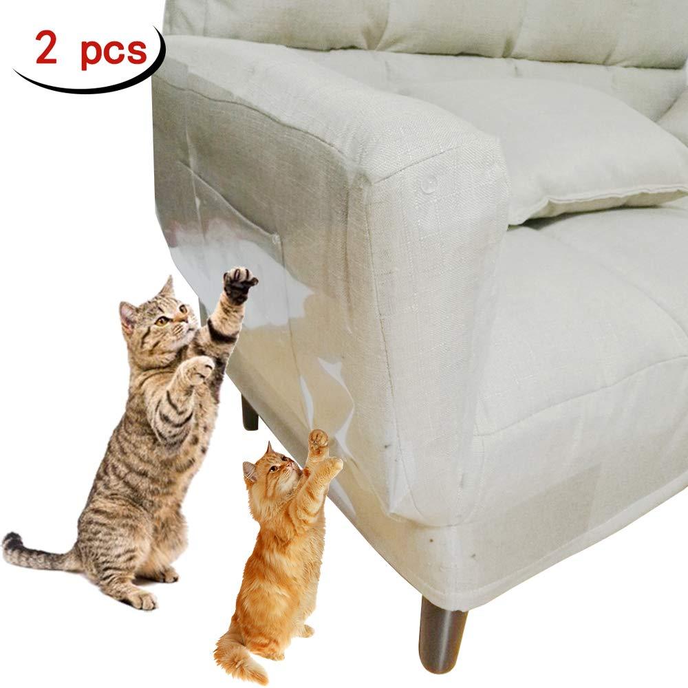 Clashduck Protectores de Muebles de Gatos para Muebles de Gatos, Protectores de arañazos para sofá, Puerta, Muebles de Madera, 2 Paquetes: Amazon.es: ...