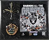 Oakland Raiders All Time Great Clock
