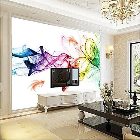 200cmx140cm sfondo moderne linee geometriche disegnate fumo colorato ...