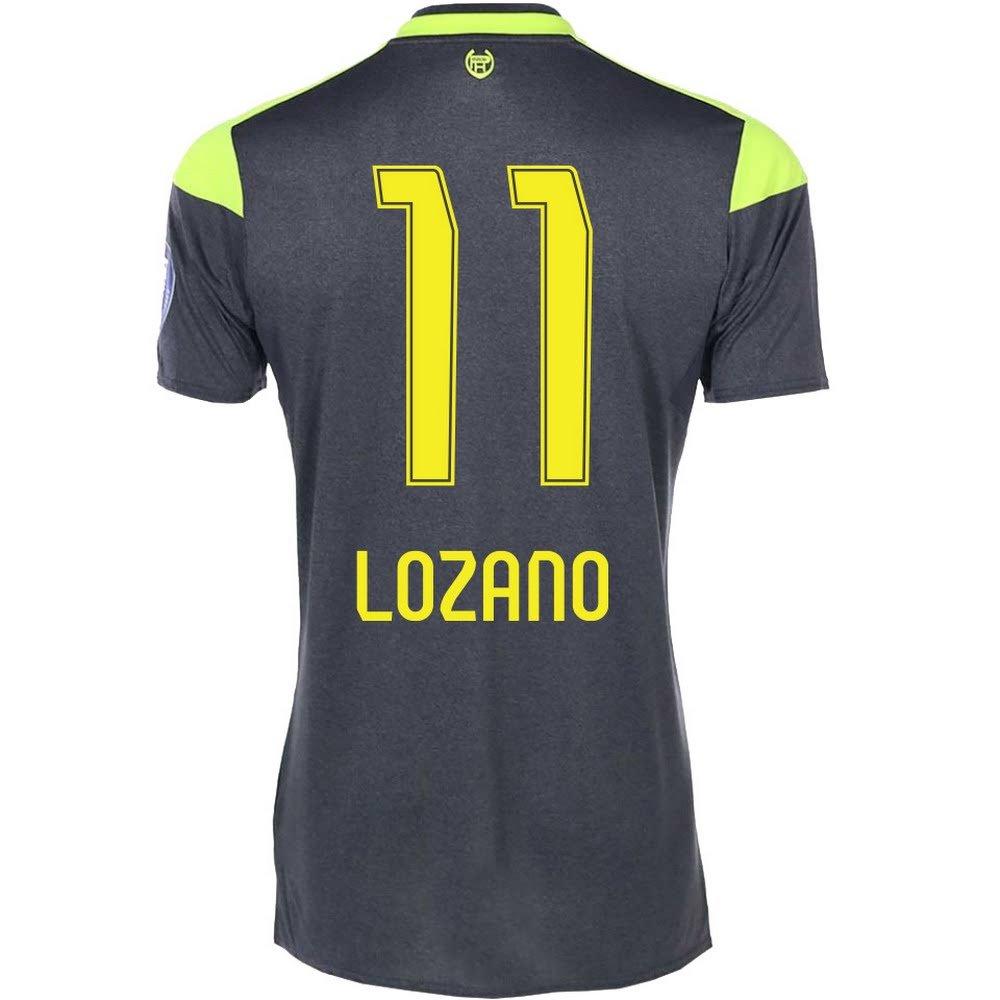 PSV Away Lozano 11 Jersey 2017 / 2018 (ファンスタイル印刷) B074CMDLX7XX-Large