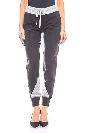 Laura Scott - Pantalón deportivo - para mujer Negro 44: Amazon.es ...