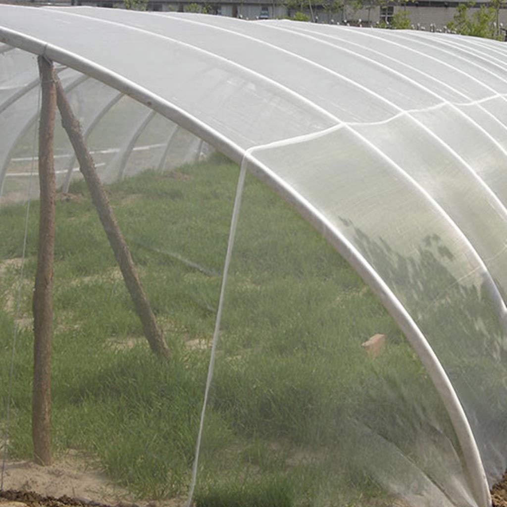 Size : Width 1.0m Garden Netting Pond Net Leaves,White Bird Netting for Fruit Fine Mesh,Safety Fruit Cage Veg Net Gardens,anQna