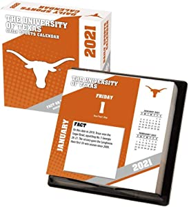 TURNER Sports Texas Longhorns 2021 Box Calendar (21998051385)