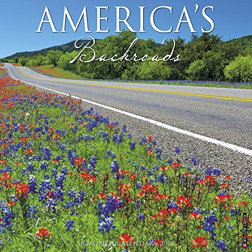 America's Backroads 2018 Calendar