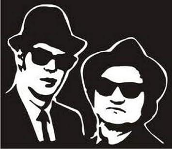 Blues Brothers Vinyl Car Window Laptop Decal Sticker