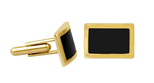 Black Onyx And Gold Cufflinks Manufacturers Direct Pricing Products Are Sold Without Limitations Men's Jewelry Jewelry & Watches