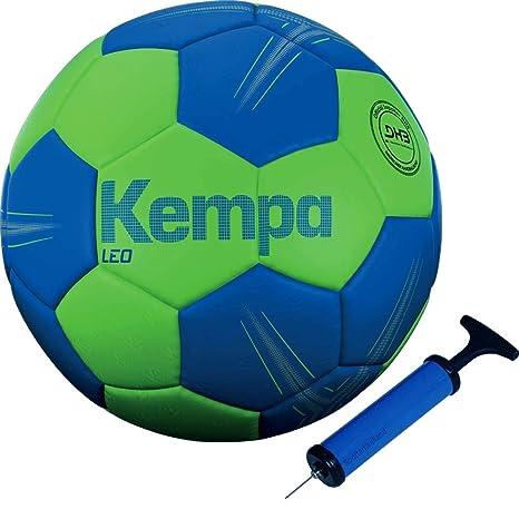 Kempa - Balón de Balonmano, Color Azul y Verde, Color Azul y Verde ...