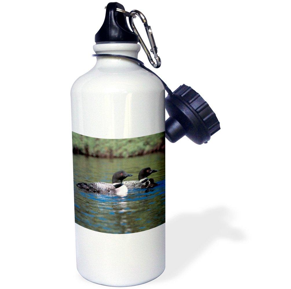 ローズWB 3109 _ 1 Chipmunkスポーツウォーターボトル、21オンス、ホワイト   B001LDDWRI