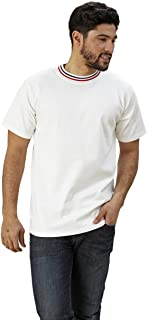 product image for Adult Short Sleeve Tri Color Crew Neck Classic Fit