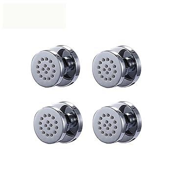 Accesorios para grifos de baño de 50 mm de diámetro, cuerpo de ducha de lluvia