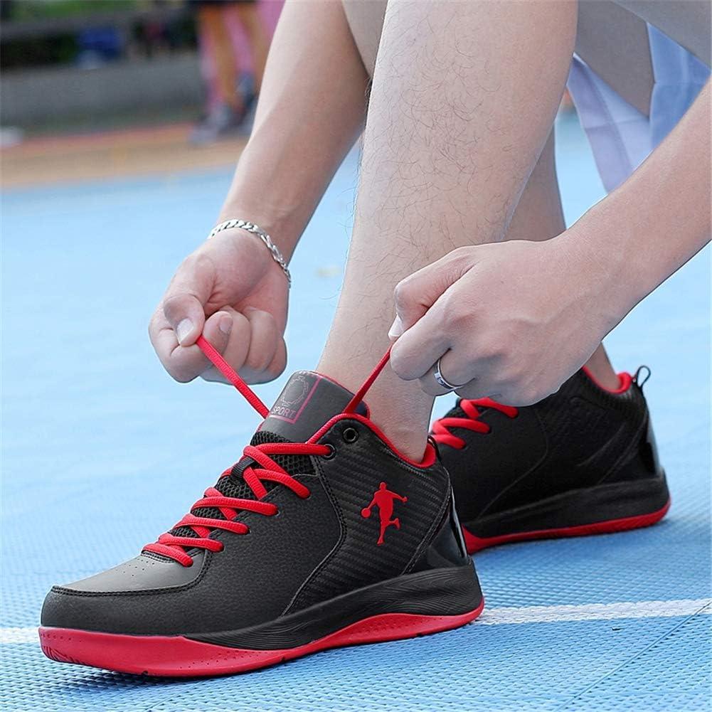 BINQI Herren Basketballschuhe High-Top leichte Sto/ßd/ämpfung rutschfeste atmungsaktive Outdoor-Sportschuhe Jungen Basketballschuhe M/ädchen Indoor-Schuhe Sportschuhe