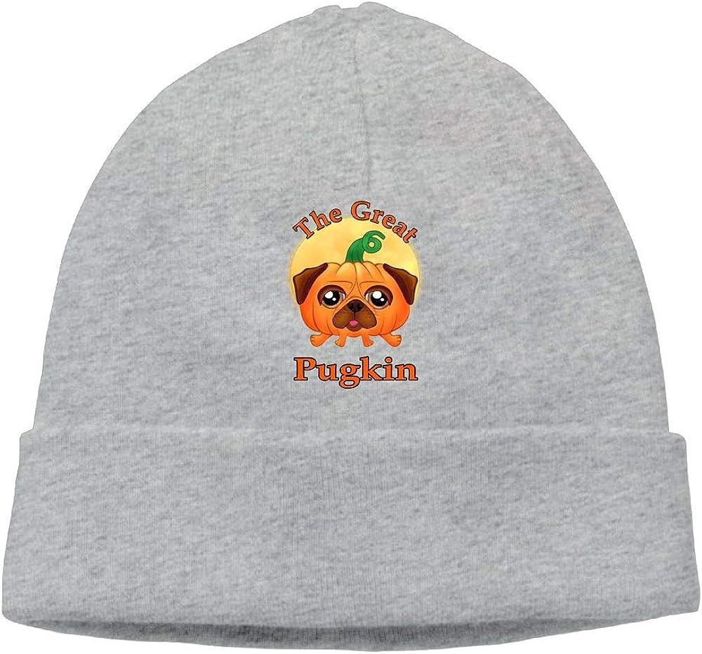 Oopp Jfhg The Great Pugkin Beanie Knit Hat Skull Cap Men