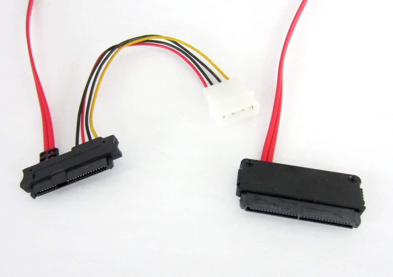SFF-8484 To 4 SFF-8482 32Pin-4 29Pin SAS Data Cable Power For