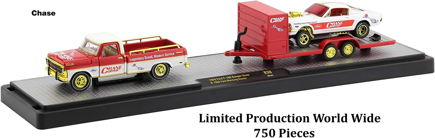 Auto Haulers Set of 3 Trucks Release 38 Limited Edition to 6000 Pieces Worldwide 1//64 Diecast Models by M2 Machines 36000-38