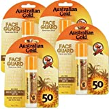 4 Pack SPF 50 Face Guard Sunscreen Stick