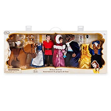 Disney Store Beauty And The Beast Deluxe Doll Gift Set By Disney