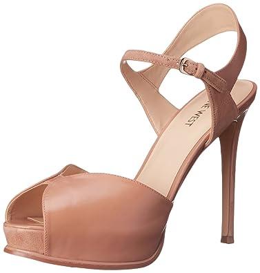 3679e8eb253 Nine West Women s Cruzeto Leather Heeled Sandal