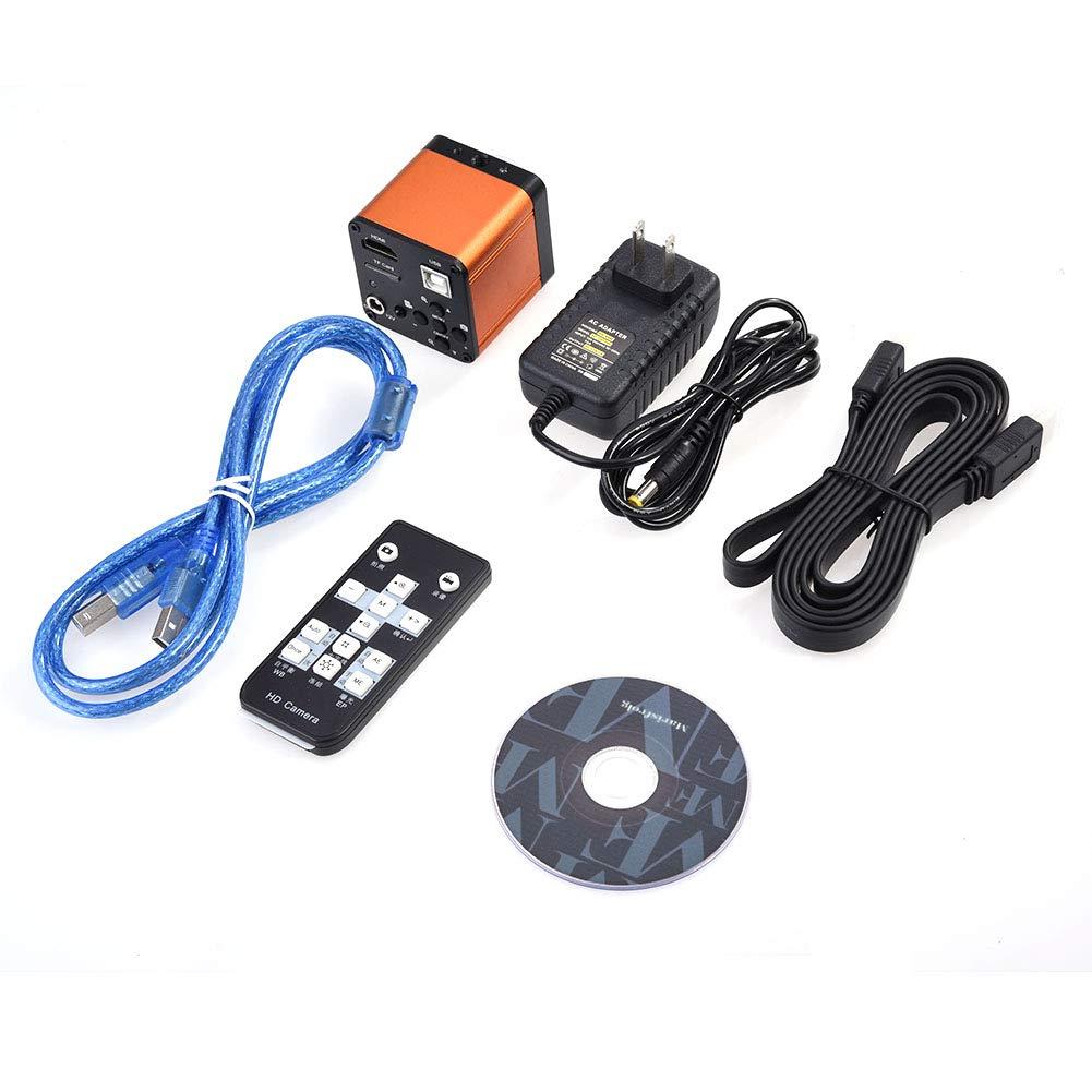 【おしゃれ】 Akozon 16MP工業用カメラ、110-240V 60FPS 1080P 60FPS HDMI USB USBラボ工業用FHD顕微鏡デジタルカメラビデオHDMI USB HD 1080P TFカード写真ビデオレコーダー - オレンジ(110-240V) B07PP7V8RQ, 富岡町:349d9ee4 --- vanhavertotgracht.nl