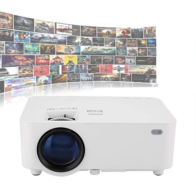 Tosuny Proyector Cine en Casa 800x480 Resolución 30,000HRS LED ...