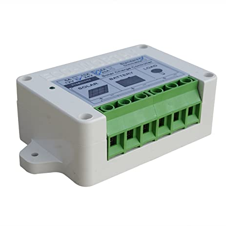 Amazon fisters 15a solar charge controller with timer fisters 15a solar charge controller with timer light sensor function system accessory mozeypictures Image collections