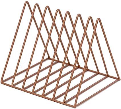 QYJpB Estantes para Libros Estantería Triangular De Metal ...