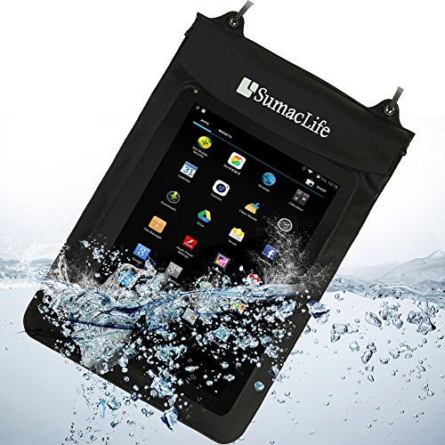 Price comparison product image SumacLife Waterproof Case Diving box Dry Bag for 10.1'' Inch Android tablets / Apple ipad Tablet PC