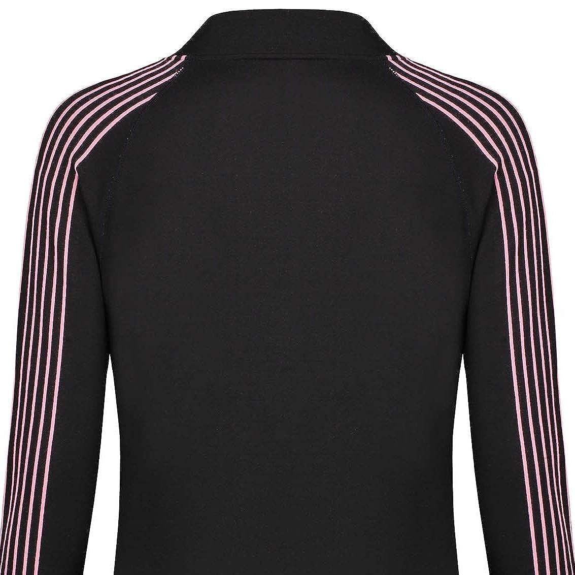 Pr/énatal Schwangere Umstandskleidung Sportweste Langarmshirt Schwarz