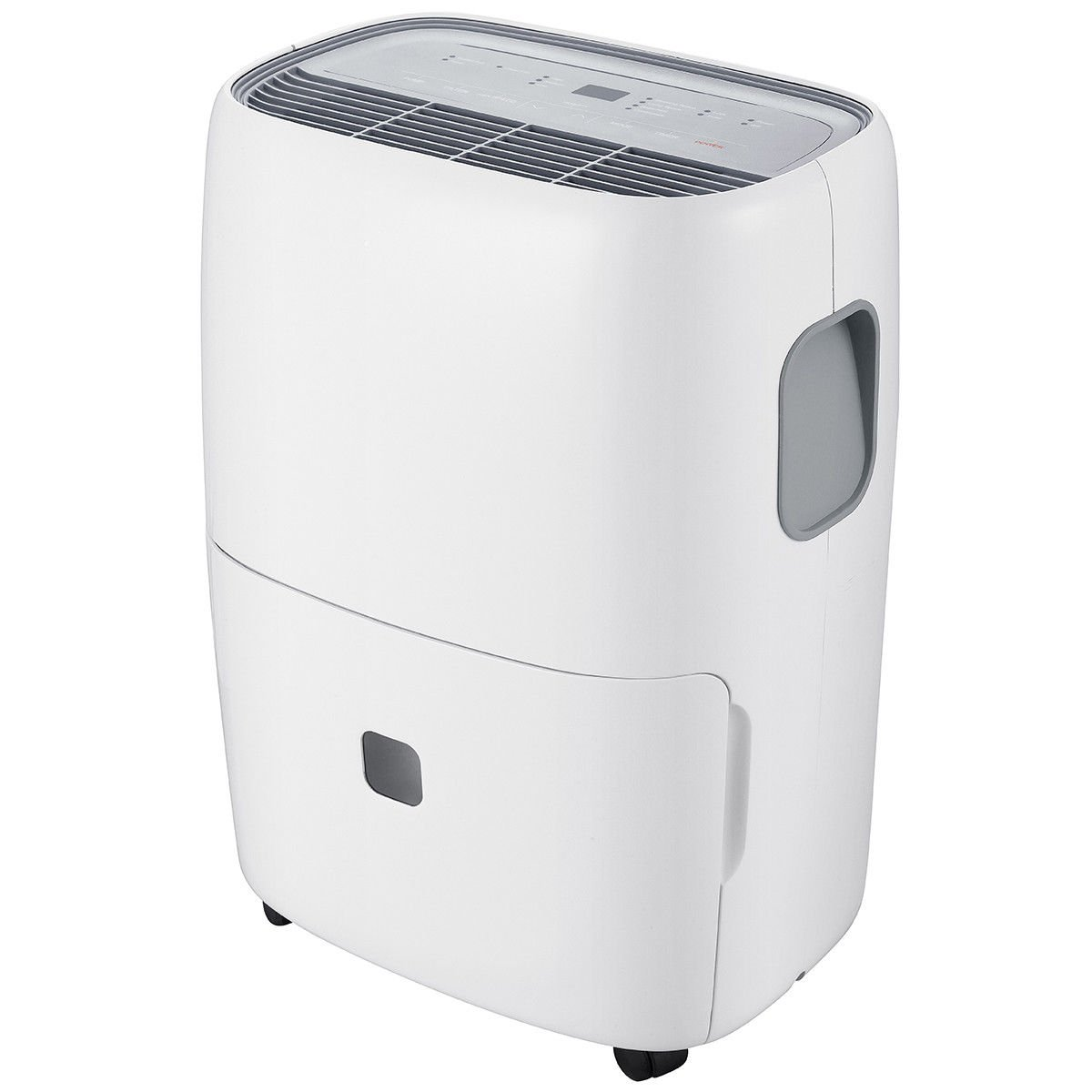 Portable 70 Pint Dehumidifier Humidity Control with Casters Washable Air Filter