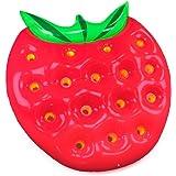 Garden Friend Luftmatratze, Strawberry, Erdbeere (verde-rosso), 32x 27x 18cm,,, g1782149