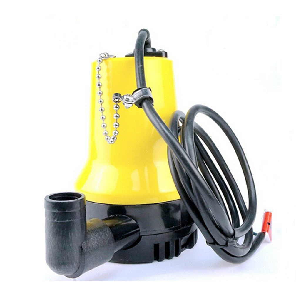 12V 1110GAL//H Submersible Water Pump Clean Clear Dirty Pool Pond Flood