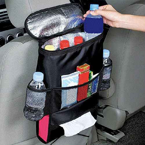 Car Storage Bags,Hongxin Car Accessories Organizer Auto Seat Of Chair Back For IPad Tablet Hanging Holder Halter Storage Organizer Pocket Storage Bag Ice Pack Thermal Insulation Bag Multi-Pocket (Halter Ice)