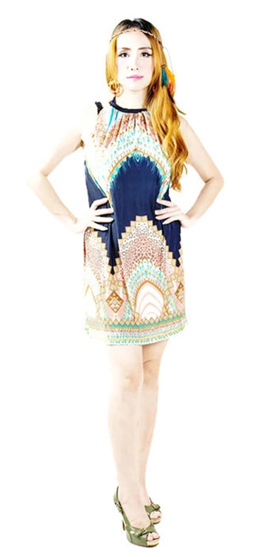 Elastic Dark fabric Style Dress Dashiki Style …女性のための弾性ファブリックドレス ブルー Dark Blue Dress B0748K3SXY, micce:9e366551 --- capela.dominiotemporario.com