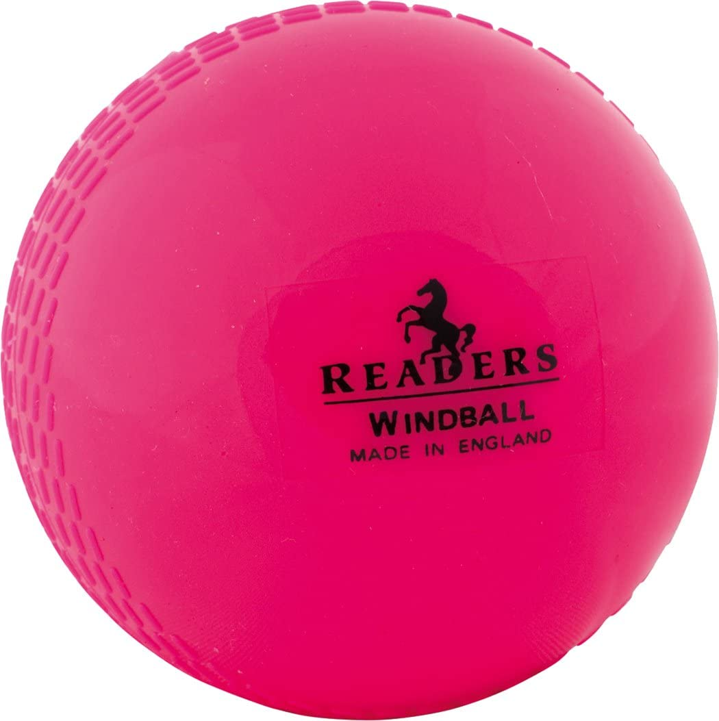 Readers PINK Windball Cricket Practice Indoor Training Coaching Balls Adults Men