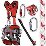 CAMP GT ANSI Fullbody Fall Arrest Kit with 150ft UL NFPA 11mm Rope Size 1 Small to Large ANSI Certified
