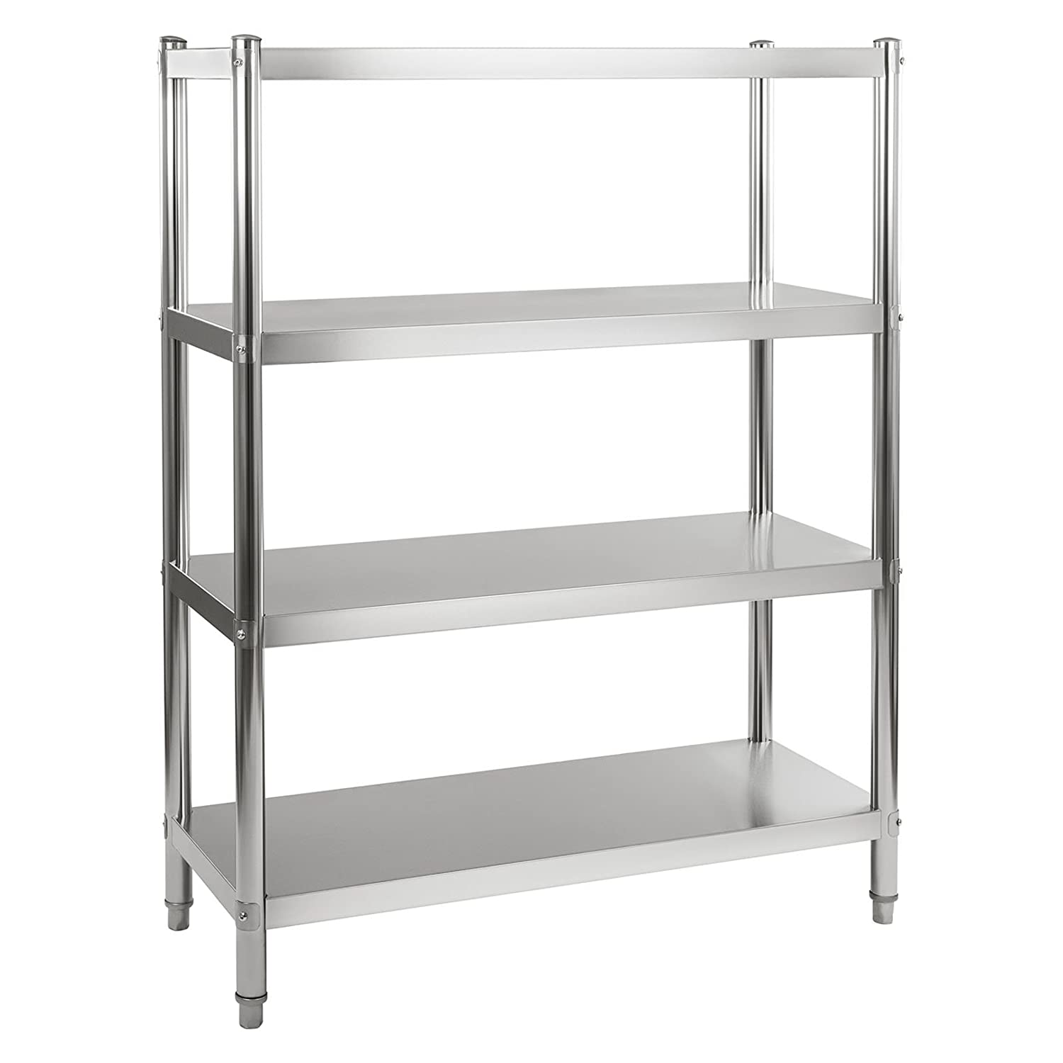Royal Catering  Rcer 120  Stainless Steel Shelving  Load