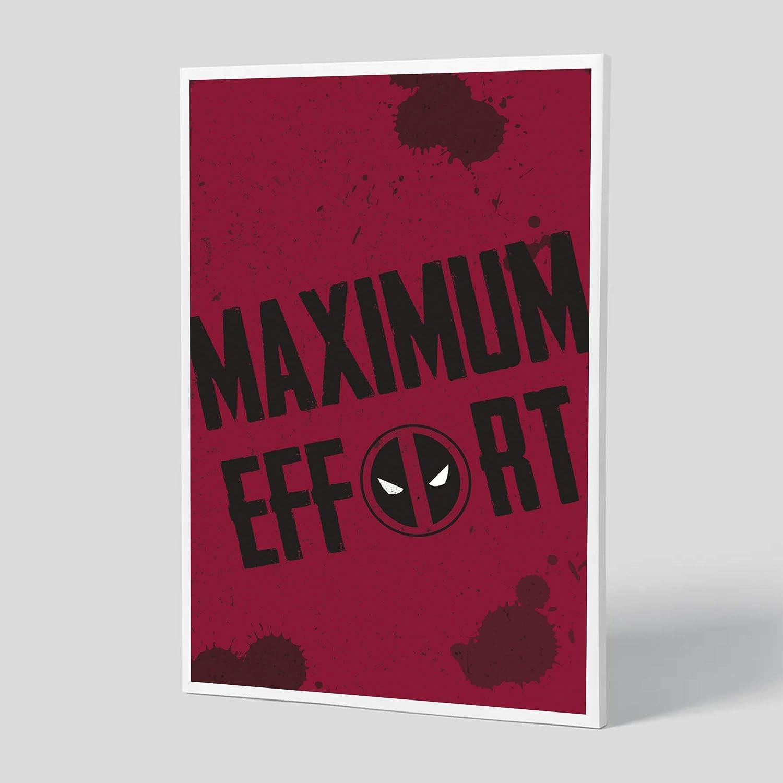 Maximum Effort! Poster; Movie Poster, Unframed, Wall Art, Movie Decor, Gifts Under $15