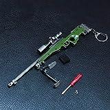 Survival Eat Chicken Games Metal 1/6 AWM Sniper