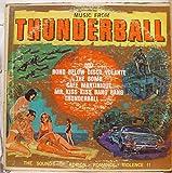 VARIOUS SOMERSET MUSIC FROM THUNDERBALL 007 vinyl record