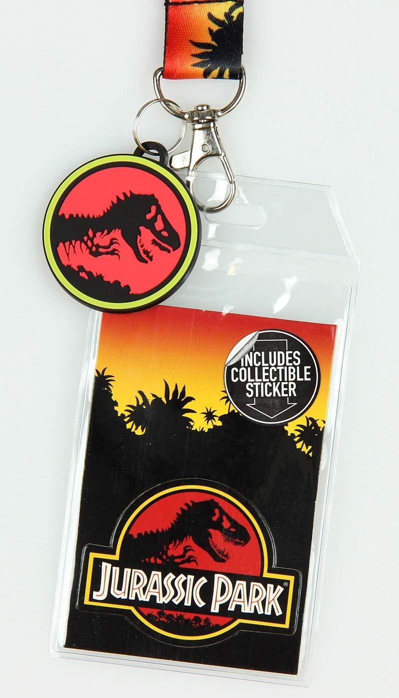 Logotipo de Jurassic Park Lanyard LLAVERO PORTA ID Logo ...