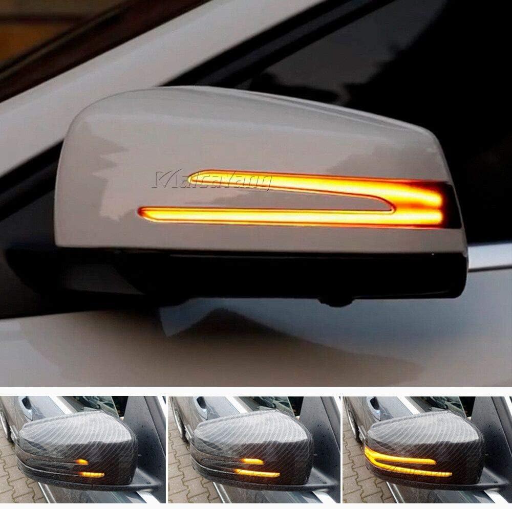 Spiegelblinker Dynamische LED Blinkerleuchten Blinker f/ür A B E C CLA GLA GLK S CLS Klasse W176 W246 W212 W204 C117 X156 X204 W221 W218