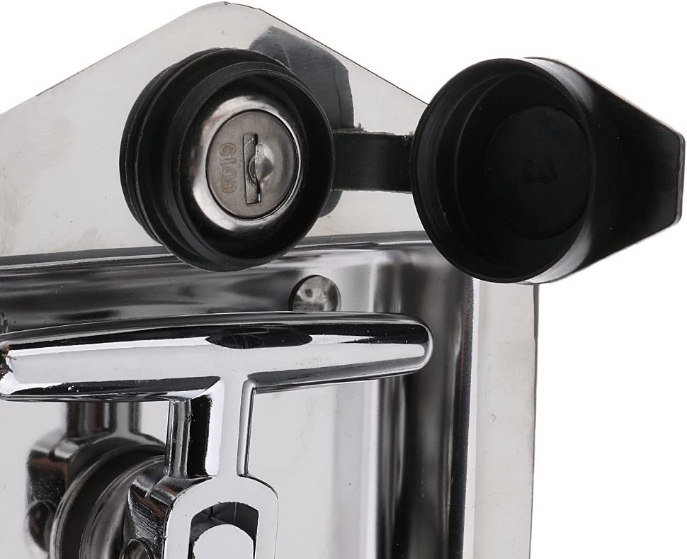 120x120x60mm Gasket and 2 Keys kesoto Stainless Steel Folding T-Handle Latch with Single Point Latch