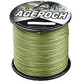 Agepoch 高強度 8ブレード 500M スーパーストロング マルチフィラメント PEライン 釣り糸 1-10号 10-100LB