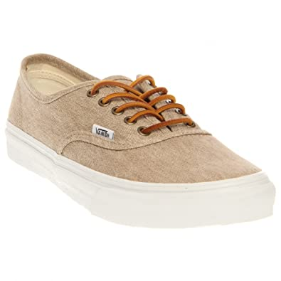 vans washed canvas beige