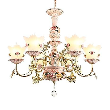 ALUK-Nice chandelier Araña de Cristal Francesa Lámpara de ...