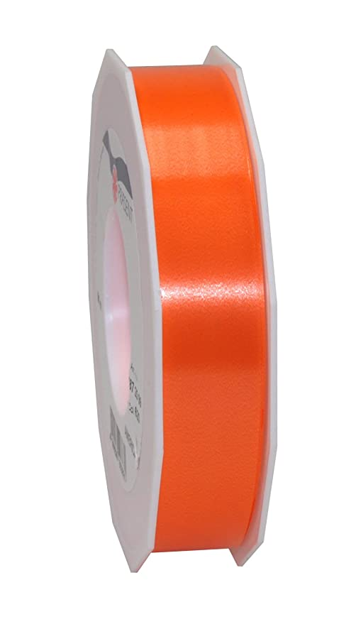 Pr/äsent 25 mm de Ancho, 91 m de Largo Cinta Decorativa Color Naranja