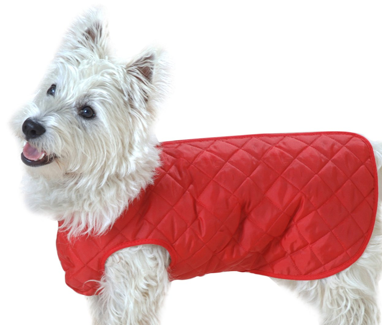 Red 22in Red 22in Cosipet Showerproof Step-In-Suit For Dogs (22in) (Red)
