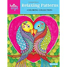 Hello Angel Relaxing Patterns Coloring Collection