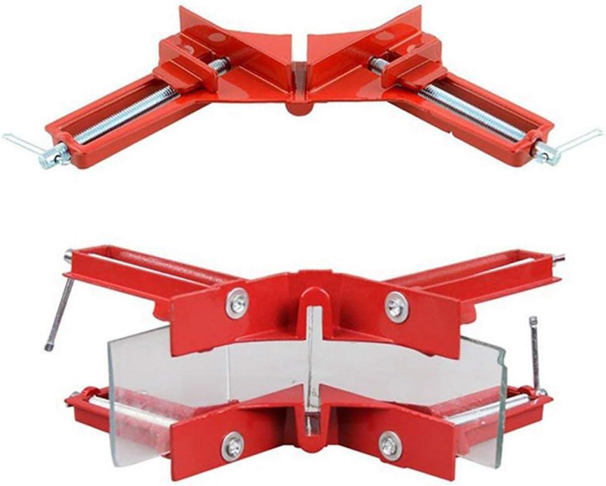 Kongqiabona-UK Marco de Fotos de Clip de /ángulo Recto Multifuncional de 90 Grados Clip de /ángulo pecera DIY Marco de Esquina Herramientas de carpinter/ía de reparaci/ón r/ápida