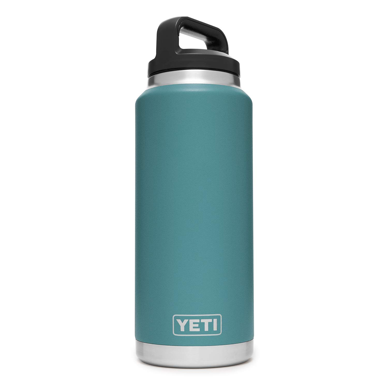 YETI Rambler 36 oz Stainless Steel Vacuum Insulated Bottle with Cap, River Green by YETI